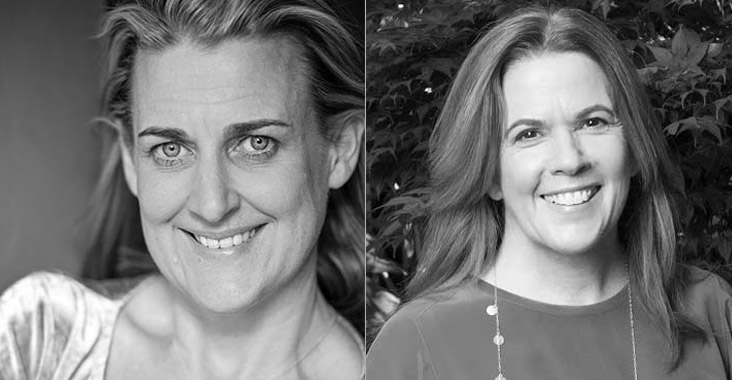 Australian Screenwriters Ellie Beaumont and Judi McCrossin