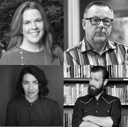 Australian Screenwriters Judi McCrossin, Peter Gawler, Ella Roby and Lachlan Marks are all funding recipients of Scripted Ink.